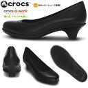 크로크스레디스판프스크로크스그레이스히르 crocs grace heel 12120 여성용 경량 레데이스 검은 색쿠스 펌프스 pumps ●