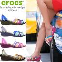 악어 숙 녀 샌들 ワラチェ 미니 웨지 위 맨 위 남자 crocs huarache mini wedge women 's 12094 여성용 웨지 샌들 경량-정액 끓 ladies sandal ●