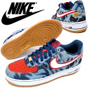 men's sneake 2014SP in 1 1 07 630,930-400 nike air force low cut denim NIKE AIR FORCE LOW DENIM midnight for navy basketball shoes men men ●