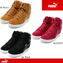 Puma in heel sneakers Lady's PUMA ビッキーウェッジウィメンズ 357246 shoes Lady's shoes sneakers●