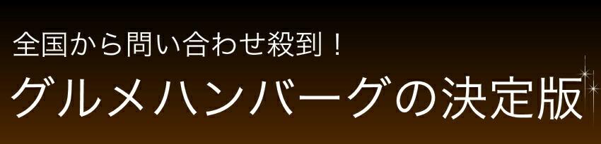 松阪牛100% プレミアムハンバーグ