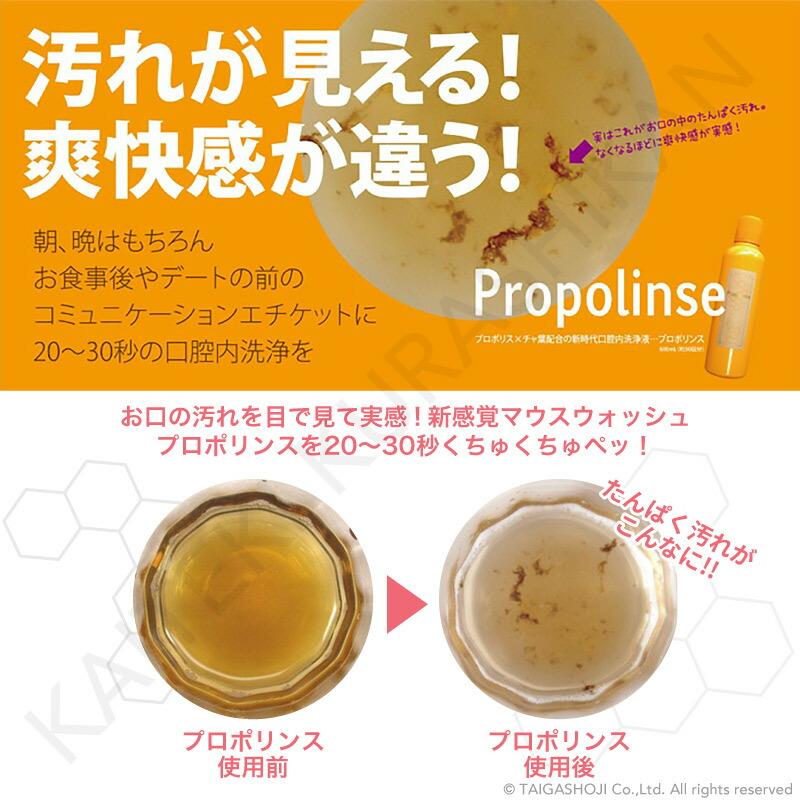 Propolinse プロポリンス デンタルホワイトニング 洗口液 600ml