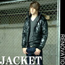 ■ a new fur blouson fake down jacket men's fashion mode → JBL-015