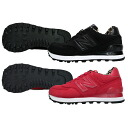 New Balance WL574SPK WL574SPR New Balance black red Leo soft-headed doh