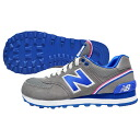 New Balance WL574SJG New Balance gray blue sneakers New York City Marathon memory model