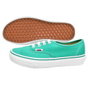 VANS AUTHENTIC vans authentic sneakers green Pool Green/True White VN-0QER6LK
