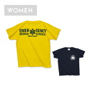 EMS RS T shirt [ladies '] (999-2341):RESCUE SQUAD [rescue squad]