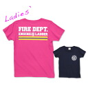 FD T-shirt [Lady's] (999-2148): RESCUE SQUAD [レスキュースクワッド]