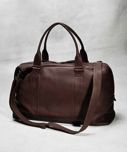 【MROLIVE(ミスターオリーブ)】ME619-WATER PROOF WASHABLE LEATHER -2WAY WORK&BOSTON BAG  バッグ