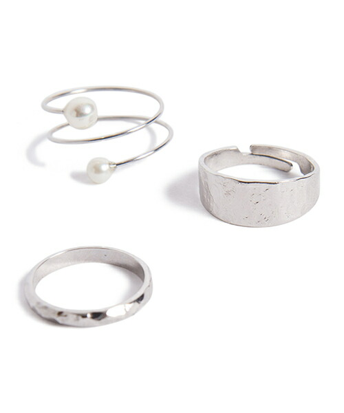 【Laymee(レイミー)】LY18SP-AC02-Pastes ring set-パステスリングセット