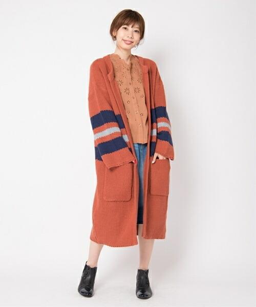 【Laymee レイミー】LY17WT-JKT01-Brink knit coat ブリンクニットコート