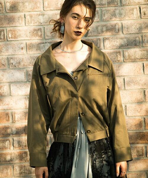 【Laymee(レイミー)】LY18SP-JKT02-Toro lace coat-トロレースコート