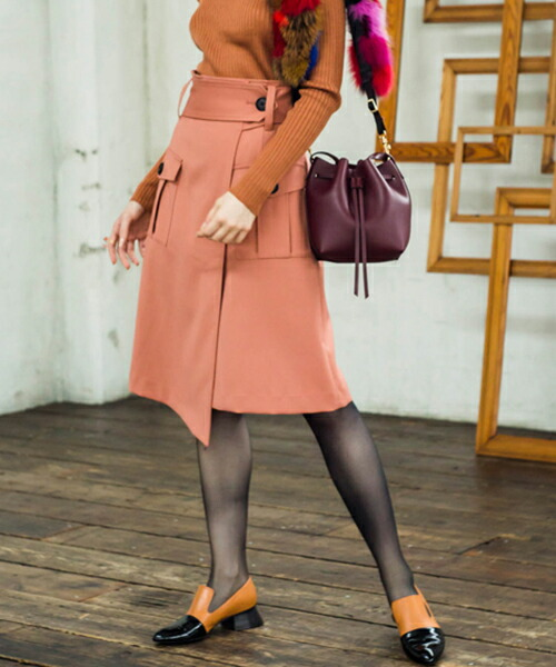【Laymee レイミー】LY17WT-SK03-Morrison skirt モリソンスカート