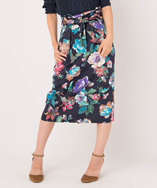 【Laymee(レイミー)】LY18SP-SK01-Parigo flower skirt-パリゴフラワースカート
