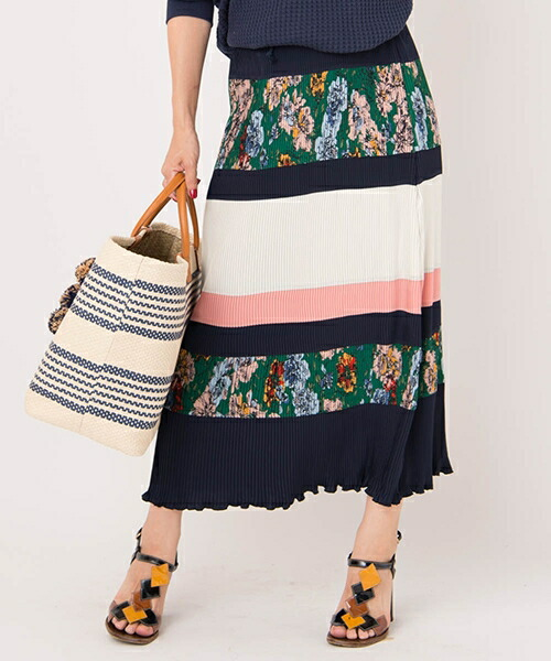 【Laymee(レイミー)】LY18SP-SK03-Barnet pleats skirt-バーネットプリーツスカート