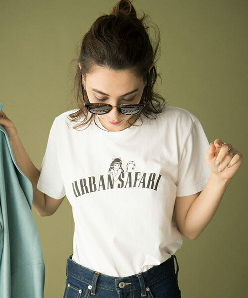 【Laymee(レイミー)】LY18SP-CC02-Urban safari T-shirt-アーバンサファリ