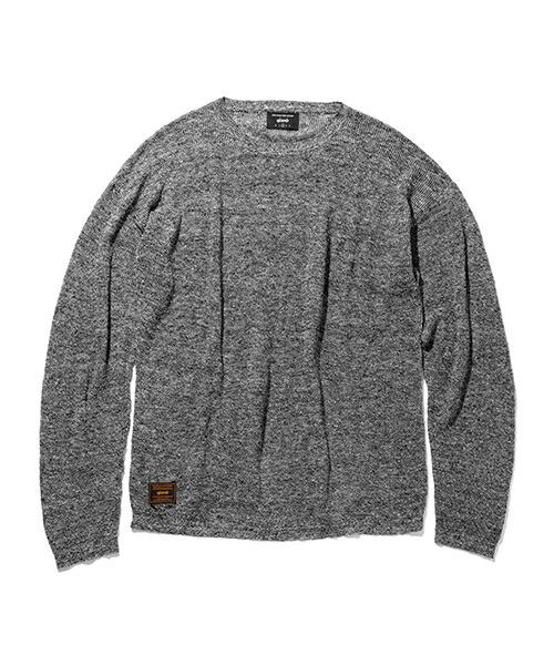 glamb グラム 通販 glamb グラム gb0218 knt05 halley linen knit