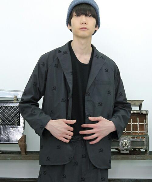 【STORAMA(ストラマ)】SOCIAL EMBROIDERY JACKET  ジャケット(STRM-18D)