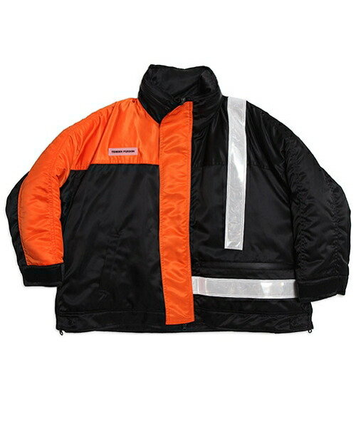 【TENDER PERSON(テンダーパーソン)】HI-VIS MOUTAIN GUIDE JACKET ブルゾン(BB-OU-2201)
