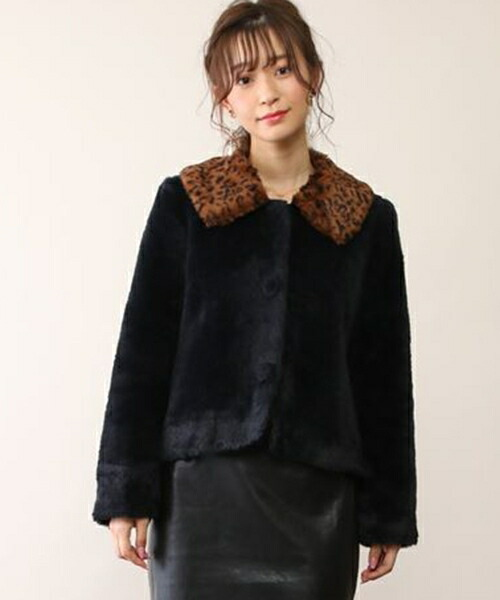 【honey salon(ハニーサロン)】Ladyファージャケット(FHW-0916)