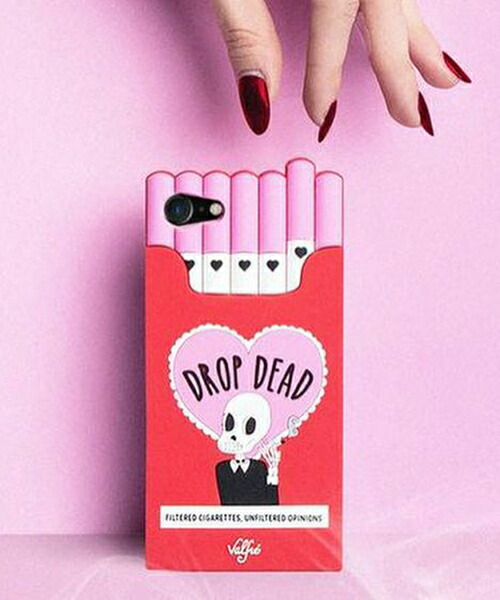 【Valfre(ヴァルフェー)】DROP DEAD iphoneケース