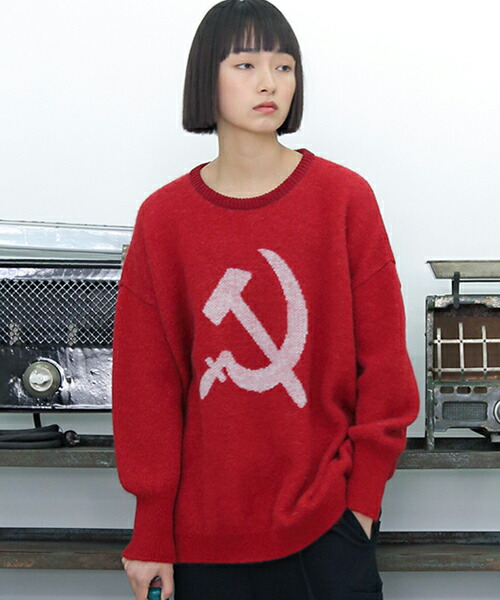 【STORAMA(ストラマ)】COMMUNISM KNIT SWEATER ニット(STRM-18Q)