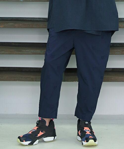 【STORAMA(ストラマ)】SOCIAL EMBROIDERY SLACKS パンツ(STRM-18E)