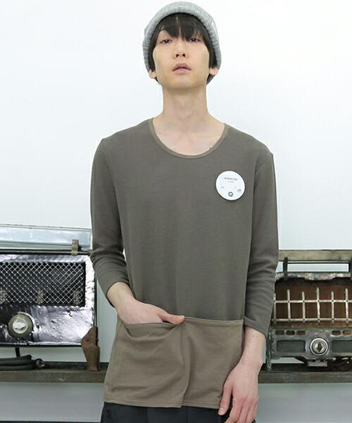 【STORAMA(ストラマ)】APRON POCKET T-SHIRTS Tシャツ(STRM-18T)