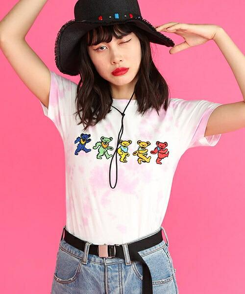 【jouetie(ジュエティ)】GREATFUL DEAD TEE Tシャツ(081832701901)