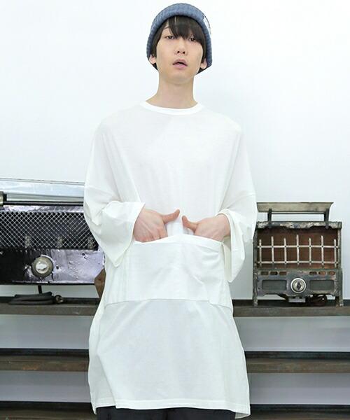 【STORAMA(ストラマ)】BIG APRON T ONE-PIECE ワンピース(STRM-18S)
