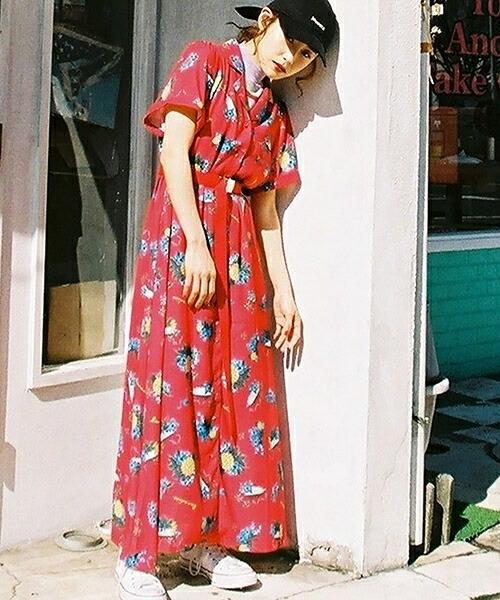 【jouetie(ジュエティ)】 アロハOP ワンピース(081820301901)