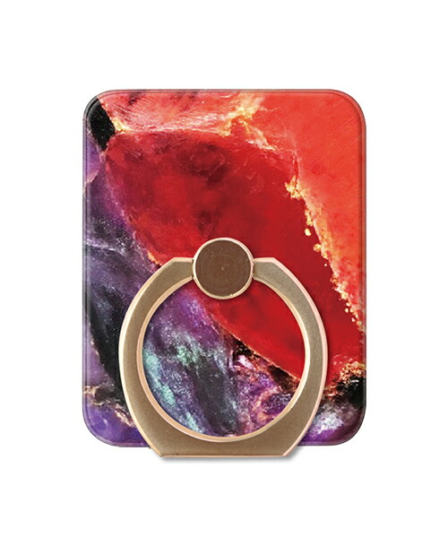【Gizmobies(ギズモビーズ)】Gizmobies+SELECT ギズモビーズセレクト スマートフォン専用リング OPAL RING RED GD(AJ-0058-RING)