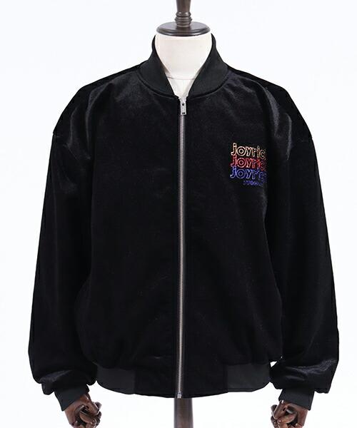 【JOY RICH(ジョイリッチ)】Snake Velvet Bomber Jacket ジャケット(1840100106)