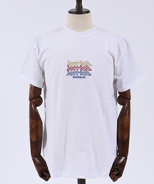 【JOY RICH(ジョイリッチ)】Triple Glitter S-S Tee Tシャツ(1840100702)