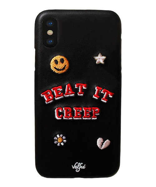 【Valfre(ヴァルフェー)】Beat it Creep IPHONE CASE  iPhoneケース(IPC_130BLK)