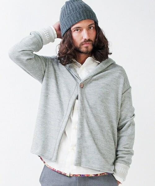 【rehacer(レアセル)】Airy Hooded Cardigan カーディガン(01145140082)