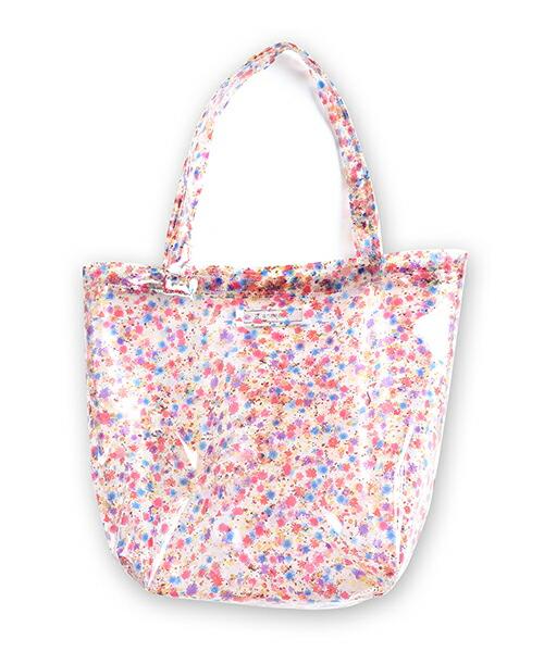 【ANSEASON ANREALAGE】flower pvc tote bag - large トートバッグ(19sasac02)
