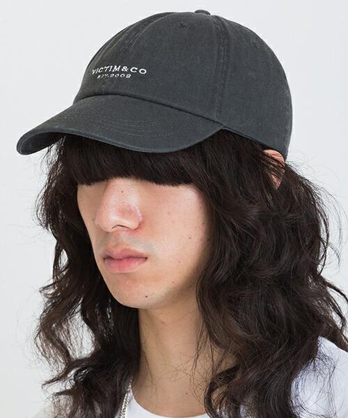 【VICTIM(ヴィクティム)】 LOGO CAP キャップ