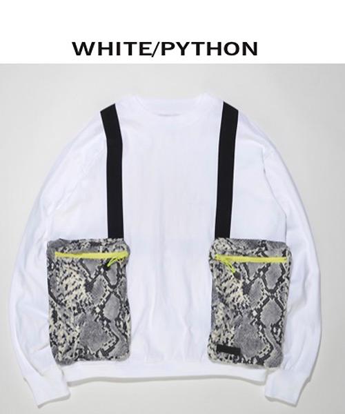 【SUPERTHANKS(スーパーサンクス)】ボディバックビックロングTシャツ(ST191CS002)