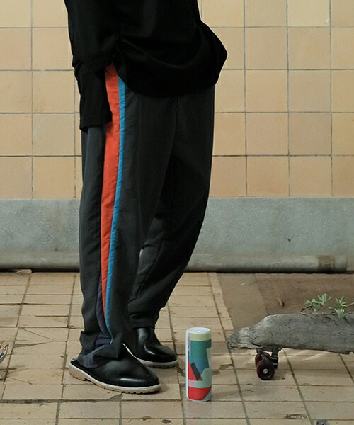 【STOF(ストフ)】メルティングポットワイドパンツ(SF19SS-07)