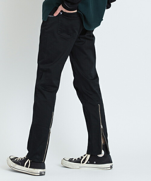 【VICTIM(ヴィクティム)】ZIP SKINNY PANTS パンツ