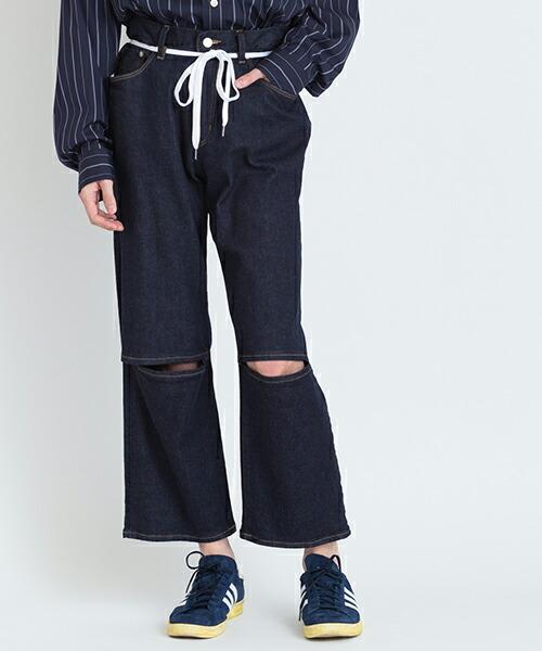 【VICTIM(ヴィクティム)】ANKLE DENIM PANTS パンツ