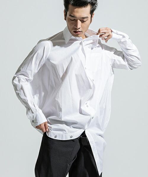 【ANSEASON ANREALAGE】ball shirt シャツ(18aas221)
