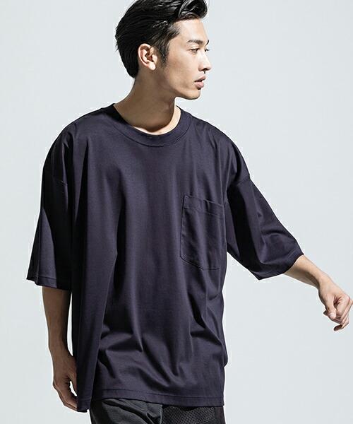【ANSEASON ANREALAGE】random sleeve big tee Tシャツ(19sas114)