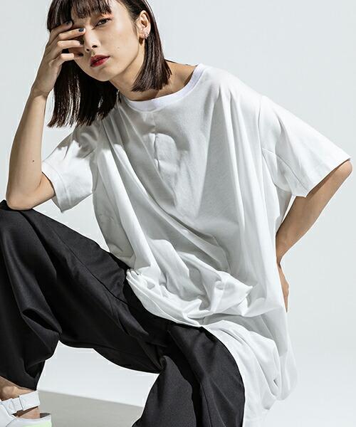 【ANSEASON ANREALAGE】short sleeve ball cut sew カットソー(19sas113)