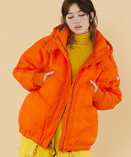 【Little sunny bite(リトルサニーバイト)】Organdy covered down jacket ダウンジャケット(LSB-LJK-116K)