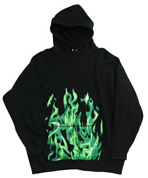 【TENDER PERSON(テンダーパーソン)】FLAME PATTERN HOODIE FOR K パーカー(RS-TO-2204)