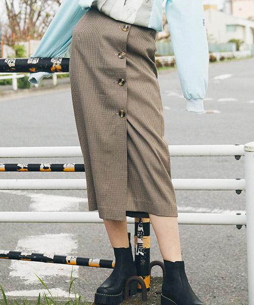 【jouetie(ジュエティ)】BIGボタンペンシルスカート(081910800101)