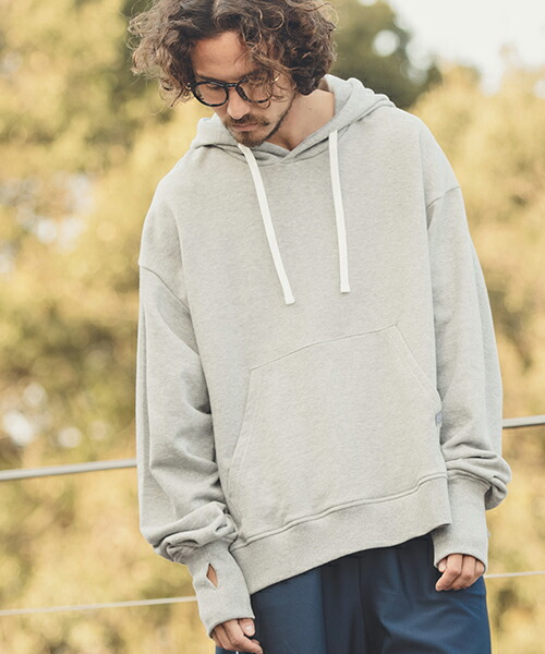 【ANGENEHM(アンゲネーム)】Side Slit Loose Parka(MADE IN JAPAN) パーカー(ANG9-014)