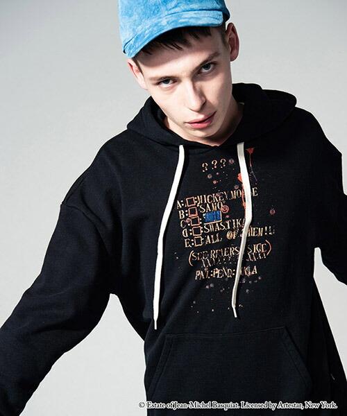 【glamb(グラム)】Basquiat hoodie バスキアフーディ(GB15ANV-BQ05)
